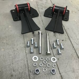 New Chevy Ls1 Ls6 Ls 1 Ls 6 Weld In Motor Mount Set Engine Frame Brackets