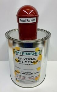 Fireball Red Pearl Gallon Single Stage Acrylic Enamel Car Auto Paint