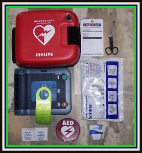 New Philips Heartstart Frx Aed Hs1 Defibrillator M5068a Battery 2020 Pads 2020