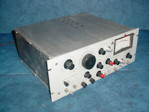 Princton Applied Research Par Hr 8 Lock in Amplifier W type C Preamp