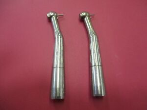 Lot Of 2 Star Dental 430 Swl Dental Handpieces