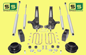 2001 2010 Ford Ranger 2wd 7 5 Lift Kit Spindles Fr Spacers Blocks 4 Shocks
