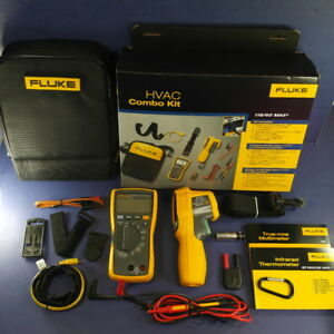 New Fluke 116 62 Max Plus Hvac Combo Kit March 2018