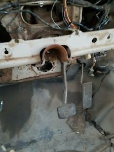 67 68 69 Ford F100 Ranger Truck Original Automatic Break Pedal Assembly 70 71 72