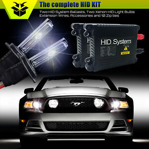 Hidsystem Xenon Light Slim Hid Kit For 1997 2014 Ford Expedition 9005 9006 H13