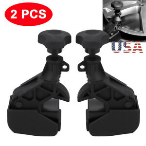 2pcs Nylon Tire Changer Bead Clamp Drop Center Tool Rim Clamp Machine