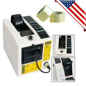 Automatic Tape Dispensers Adhesive Tape Cutter Packaging Machine 3 Digital Led