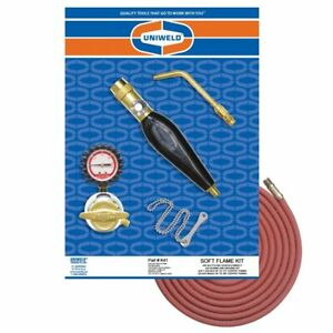 Uniweld K41 Air acetylene Soft Flame Kit For B Tank With Th9 Handle And S23 Tip