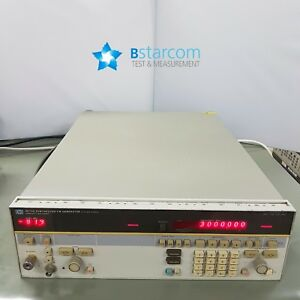 Agilent 8673g Synthesized Cw Generator 2 20ghz