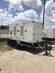 Caterpillar Aps150 150kw Portable Diesel Generator Set
