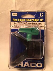 Graco Fns310 Reversible Fine Finish Tip 310 New