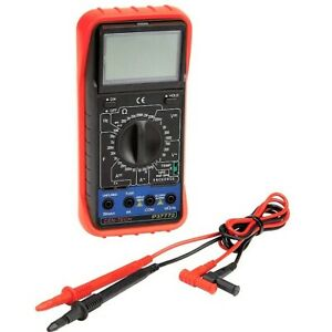 11 Function Cen tech Digital Multi meter Tester Audible Continuity 61593