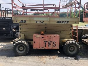 Jlg 40rts 4x4 Rough Terrain Scissor Lift