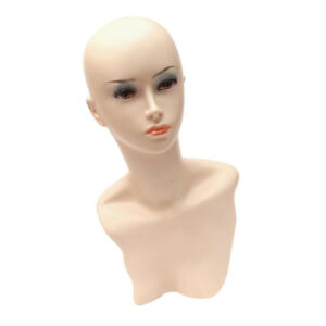 Female Mannequin Torso Display Head Model For Clothes Jewellery Shop Display