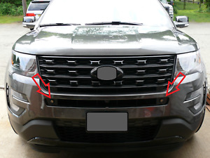 2016 18 Ford Explorer Custom Eagle Eye Led Bumper Fog Lamp Daytime Running Light