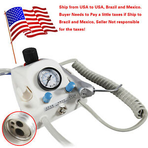 Dental Air Turbine Portable 4hole Work With Air Compressor