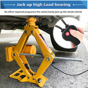 Electric Car 3 Ton Dc 12v All in one Automatic Suv Lift Scissor Repair Tool
