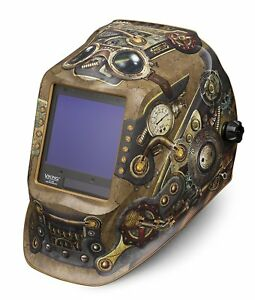 Lincoln Electric Viking 3350 Steampunk Welding Helmet With 4c Lens Technology