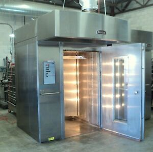 Rack Oven Gas 2013 Baxter Oven Double Rack Bakery Bread Oven