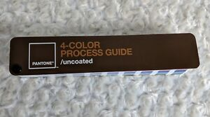 Pantone 4 color Process Guide Uncoated Color Swatch Book 2005