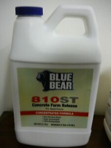 Franmar Blue Bear Concrete Form Release 810st For Steel Forms 58 Oz Concentrate