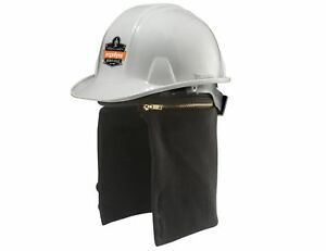 N ferno 6885 2 way Fire Resistant Thermal Hard Hat Winter Liner Black New