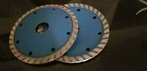 10 X 4 1 2 Diamond Turbo Convex Saw Blade Granite Concrete Stone Sink Cutter