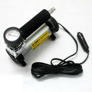 12v Car Electric Mini Air Compressor Pump Bike Tyre Air Inflator Pump 140psi