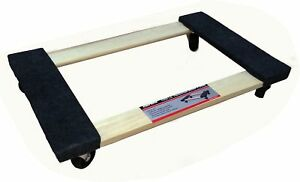 Truepower Hardwood Carpet End Furniture Dolly Mover s Dolly 3 Caster New