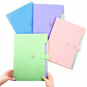 Phyxin Expanding File Folder office Organizer Document ac multicolored