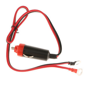 Cigarette Lighter Plug Cable Car Power Supply Inverter Adapter Wire 12v 10a