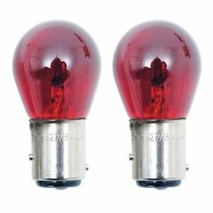 2x Red 1157 Light Bulb Auto Car Tail Brake Stop Signal Turn Lamp S8 12v Lot