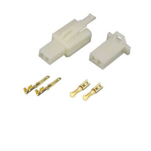 2 8mm 2 Pin Way Automotive Electrical Wire Connector Male And Female Cable