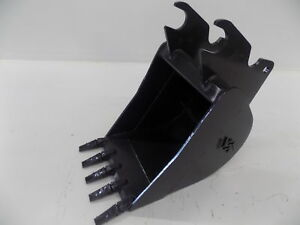 Excavator Bucket 24 Fits Kubota Kx080 Quick Attach