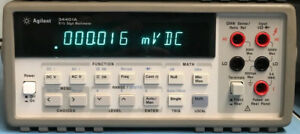 Agilent 34401a Digital Multimeter 6 Digit Tested And Working