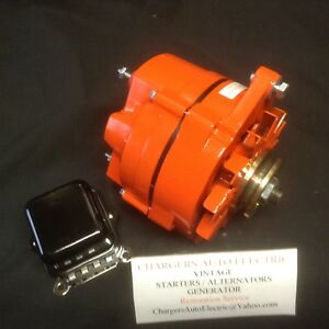 1964 70 Buick Wildcat 135 Amp High Performance Alternator In Gm Orange