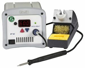 Pace St 50 Digital Soldering Station With Td 100 Iron And Stand New