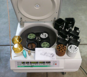 Sorvall Legend Rt Centrifuge Fab Condition W Loads Of Extras Temp Control Too