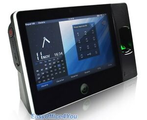 7 Inch Touch Screen Biometric Fingerprint Time Attendance Device Biopad100 wifi
