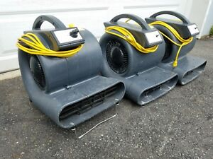 One 1 Viper 3 4 Hp Air Mover 3 Speed Commercial Carpet Dryer Floor Fan Blower