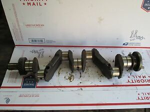 Farmall 140 240 Crankshaft 388711r Ih Crank