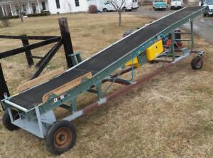 24 l 36 W Hytrol Sbi Heavy Duty Firewood Conveyor With 30 w Belt Never Used