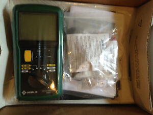 New Greenlee 5882 c Digital Analog Multimeter Free Shipping