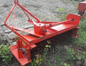 Jacobsen Rodgers 548 Pto 3 Pt Slice Seeder With Seed Box