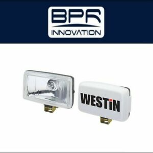 Westin Automotive Universal Driving Lights Large Rectangular Light Black