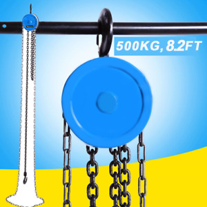 2 5m 8 2ft Pulley Chain Block Chain Hoist Cable Hand Control Pulley Crane