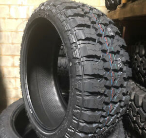 4 New 33x12 50r17 Lre Fury Off Road Country Hunter M T Mud Tires 33 12 50 17 R17