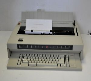 Vintage Ibm Wheelwriter 3 Electronic Typewriter
