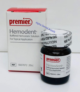 Premier Dental Hemodent 20 Cc Buffered Hemostatic Solution