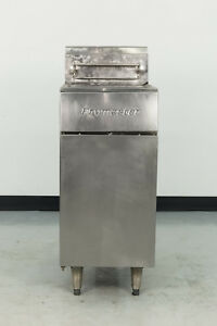 Used Frymaster Gf14 sd 40 Lb Gas Fryer